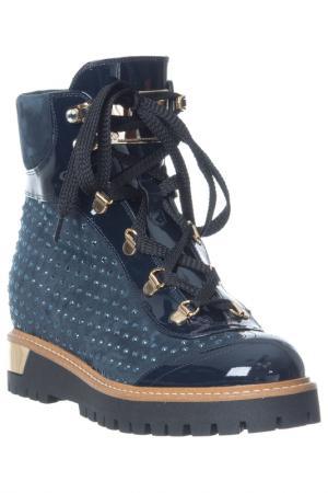 Ботинки Loretta Pettinari. Цвет: синий