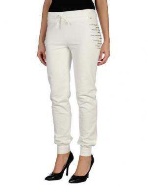 Повседневные брюки HANNY DEEP. Цвет: белый