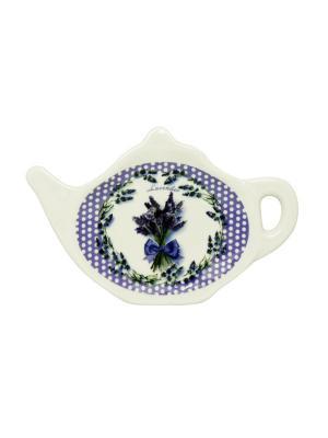 Блюдце для чайных пакетиков Gift'n'Home. Цвет: белый, салатовый, фиолетовый