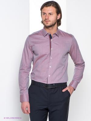 Рубашка MONDIGO. Цвет: лиловый