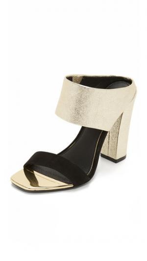 Туфли без задников Skyla Rachel Zoe. Цвет: золотистый/черный