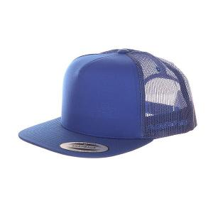 Бейсболка с сеткой  6005ff Royal Flexfit. Цвет: синий