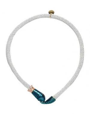 Ожерелье LA HORMIGA. Цвет: серебристый