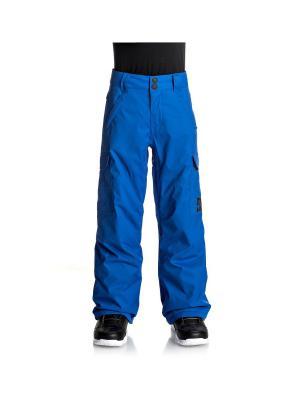 Брюки DC Shoes. Цвет: синий, голубой, индиго