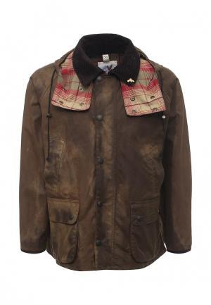 Куртка утепленная John Partridge. Цвет: хаки
