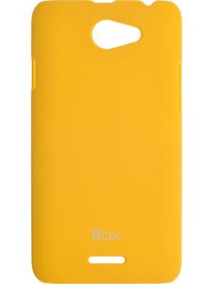 Накладка для HTC Desire 516 Shield case 4People skinBOX. Цвет: желтый