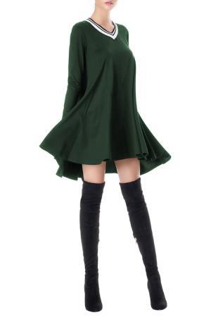 Платье JUNONA. Цвет: green