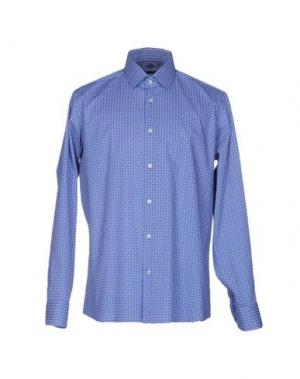 Pубашка HERMAN & SONS. Цвет: синий