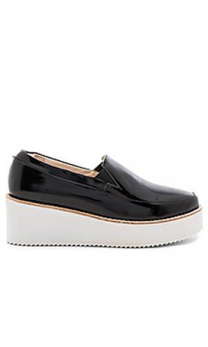 Обувь на танкетке tabbie Sol Sana. Цвет: черный