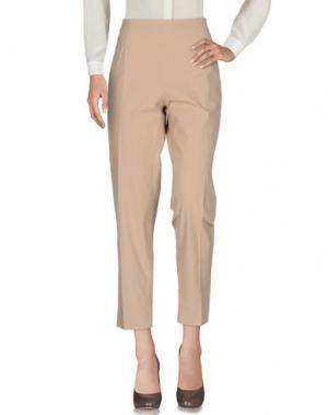 Повседневные брюки FABRIZIO LENZI. Цвет: песочный