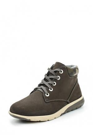 Ботинки Котофей. Цвет: хаки