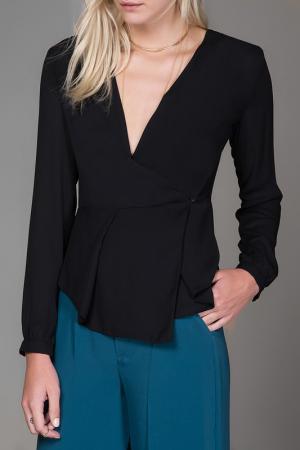 Блузка Milla. Цвет: черный