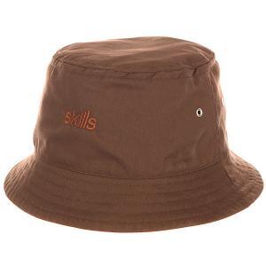Панама  V Brown Skills. Цвет: коричневый