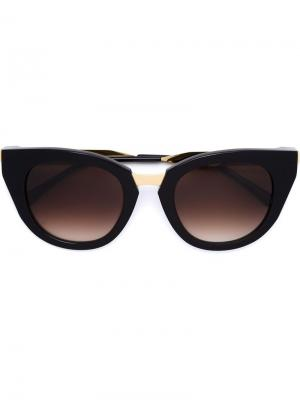 Солнцезащитные очки Snobby Thierry Lasry. Цвет: чёрный