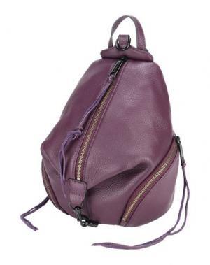 Рюкзаки и сумки на пояс REBECCA MINKOFF. Цвет: баклажанный