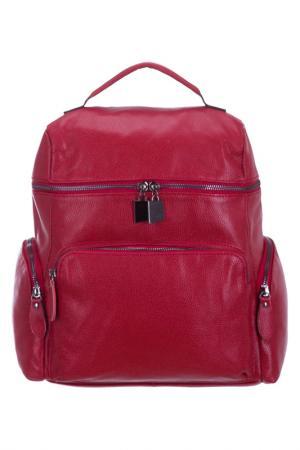 Рюкзак BAGSTONE. Цвет: красный