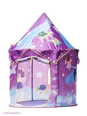 Палатка игровая Маленькие волшебники Наша Игрушка. Цвет: фиолетовый