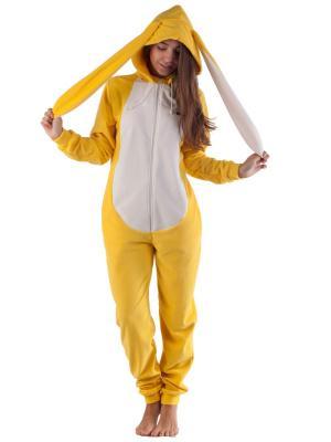 Домашний комбинезон Солнечный Заяц FUNKY SUNNY BUNNY HOME SUIT RIDE. Цвет: желтый