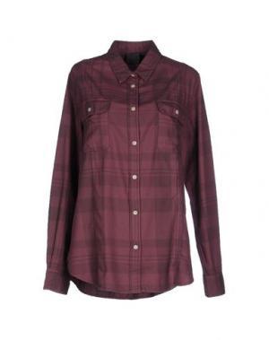 Pубашка LOT 78. Цвет: пурпурный