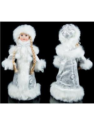 Новогодний сувенир для подарков Снегурочка Русские подарки. Цвет: голубой, белый