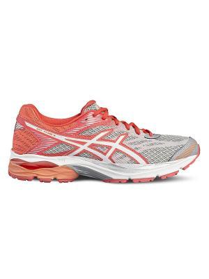 Спортивная обувь GEL-FLUX 4 ASICS. Цвет: серый, белый, розовый