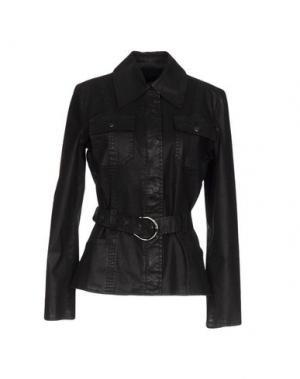 Куртка ANGELO MARANI. Цвет: черный