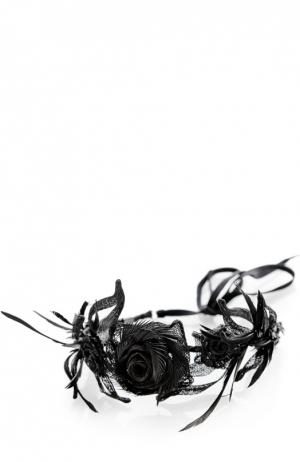 Повязка Colette Malouf. Цвет: серебряный
