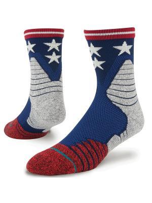 Носки BASKETBALL PERFORMANCE FLOOR GENERAL (SS17) Stance. Цвет: синий, красный, серый