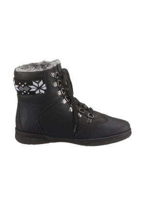 Ботинки CITY WALK. Цвет: белый, серый, черный
