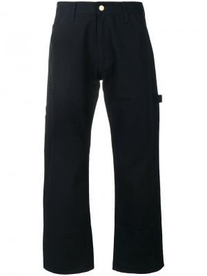 Укороченные джинсы Junya Watanabe Comme Des Garçons Man. Цвет: синий