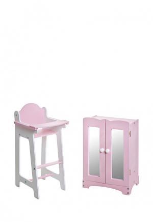 Набор игровой Paremo. Цвет: розовый