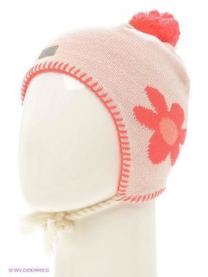 Шапка Lassie by Reima. Цвет: бледно-розовый, розовый, белый