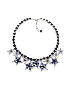 Ожерелье LISA C BIJOUX. Цвет: темно-синий