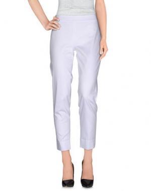 Повседневные брюки SAVE THE QUEEN. Цвет: белый