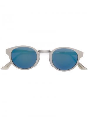Солнцезащитные очки Panama Retrosuperfuture. Цвет: металлический