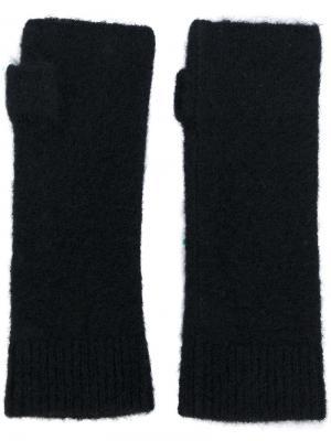Перчатки без пальцев Isabel Marant. Цвет: чёрный