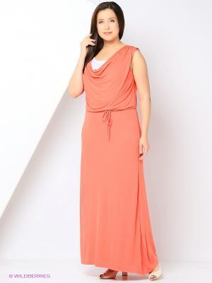 Платье AMAZONE. Цвет: коралловый
