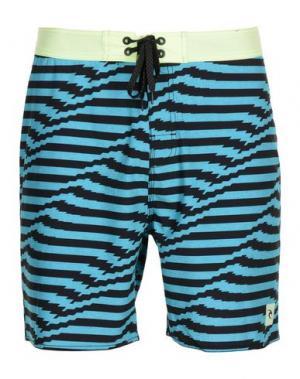 Пляжные брюки и шорты RIPCURL. Цвет: бирюзовый
