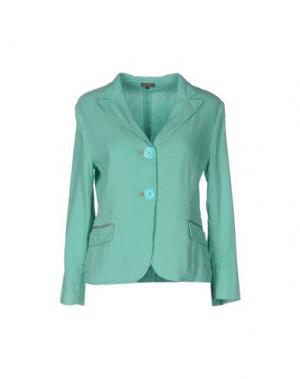 Пиджак MALÌPARMI. Цвет: бирюзовый