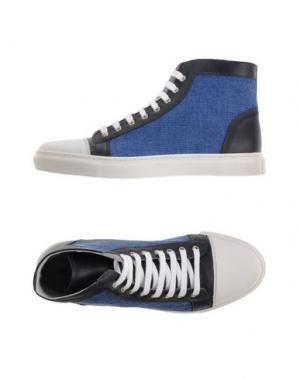 Высокие кеды и кроссовки EXIBIT. Цвет: синий