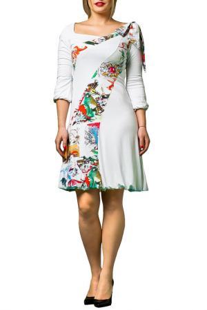 Платье JOELLE JO'ELLE. Цвет: мультицвет