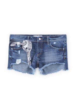 Шорты джинсовые Mango. Цвет: синий