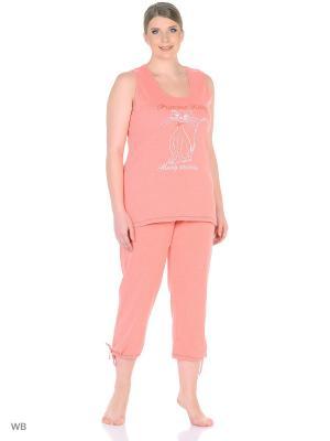 Пижама erteks. Цвет: розовый