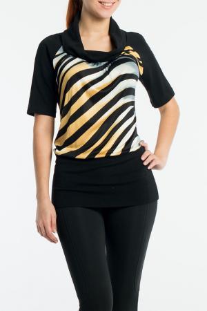 Блуза MoNaMod. Цвет: мультицвет