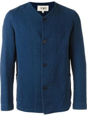 Куртка Bo Ningen YMC. Цвет: синий