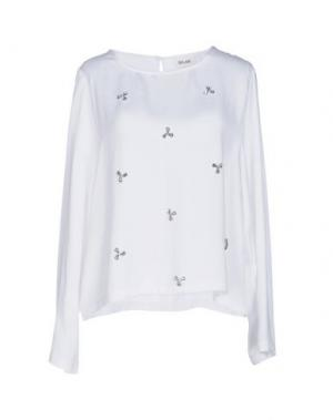 Блузка BELAIR. Цвет: белый