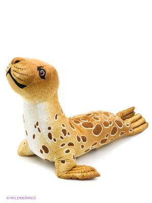 Мягкая игрушка Тюлень большой коричневый, 102 см АБВГДЕЙКА. Цвет: коричневый