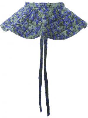 Стеганая баска Duvet Jourden. Цвет: зелёный