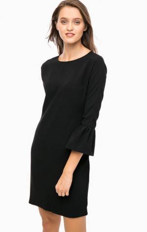 Базовое трикотажное платье Cinque. Цвет: черный