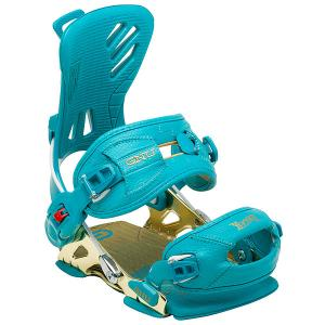 Крепления для сноуборда  B-Free Bind Blue GNU. Цвет: голубой